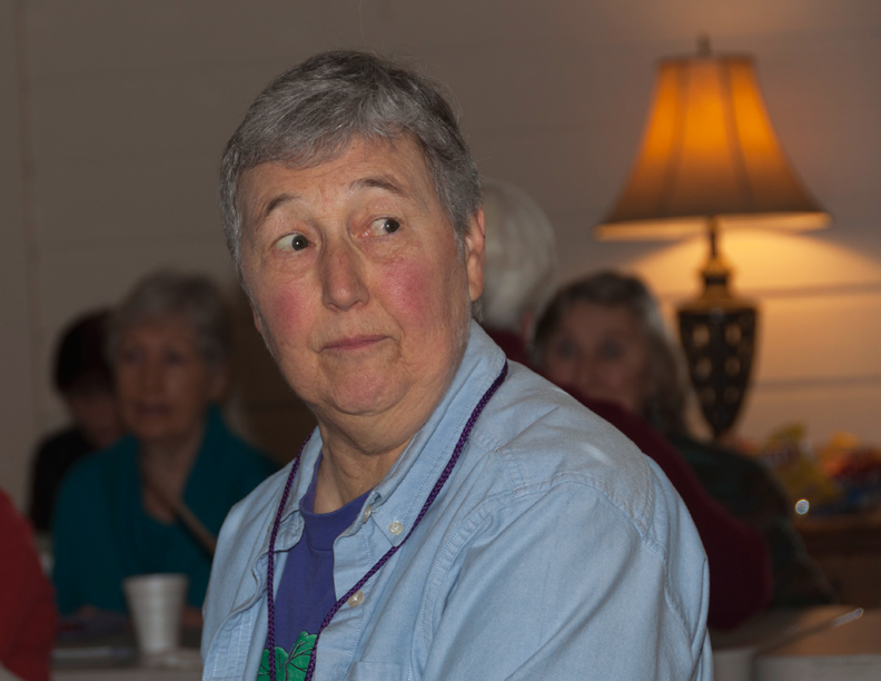 Our speaker for this month, Susan Randall, Oregon Fuchsia Society.